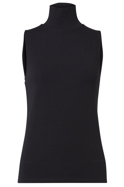 All Time Favorites Turtleneck Top in Pure Black