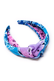 Bandana Headband in Tie Dye