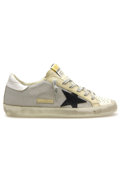 Superstar Sneaker in Light Silver/Milk/Black/White