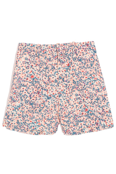 Tailored Short in Stampa Fondo Rosa