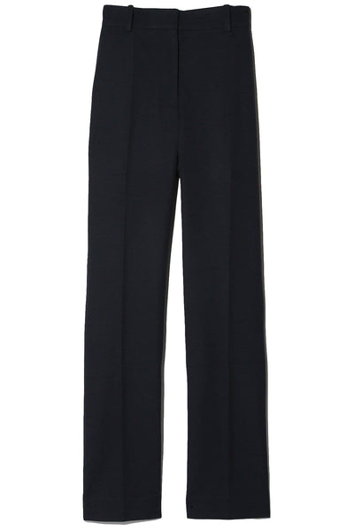 Stretch Gabardine Coleman Trousers in Navy