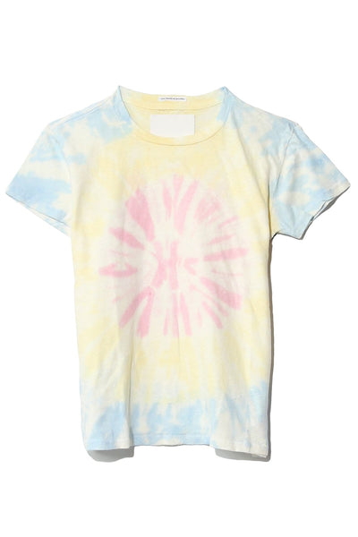 The Sinful Tee in Pink Spiral Out Of Control