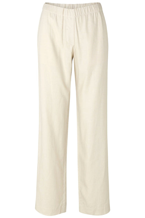 Hoys Straight Pants in Warm White