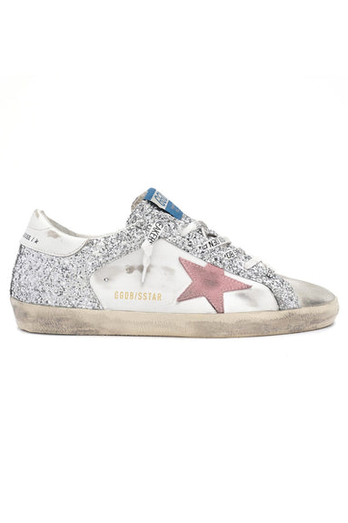 Superstar Sneaker in Ice/White/Silver/Pink