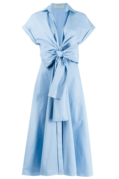 Sampuesana Dress in Chambray