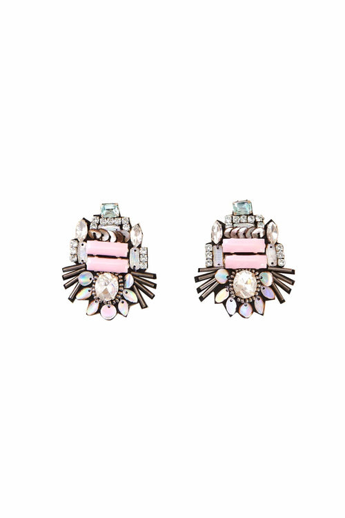 Heather Mini Earring in Pastel Pink