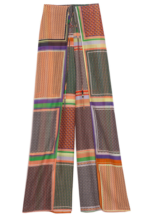 Apron Wrap Pant in Multi