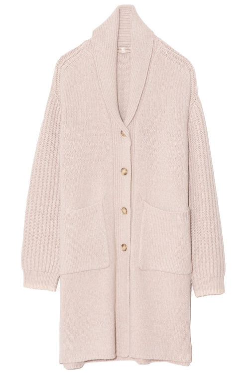 Windward Sweater Coat in Sand