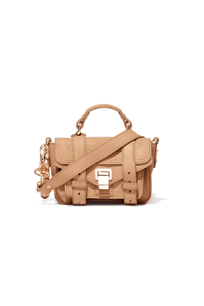 PS1 Micro Bag in Light Nude