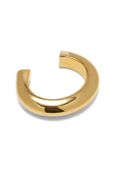 Ridge Cuff in Gold