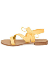 The Sandal in Yellow