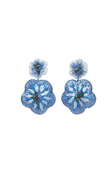Rae Drop Earring in Blues