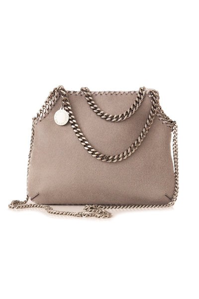 Mini Tote in Light Grey
