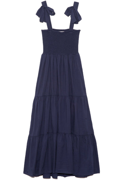 Loraine Dress in Cruise Blue