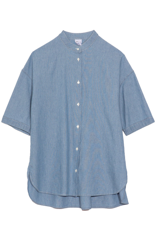 Full Chambray Blouse in Chambray