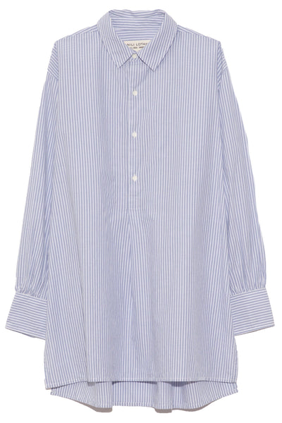 Ambrose Tunic in Light Blue Stripe