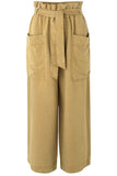Manz Trousers in Green Khaki