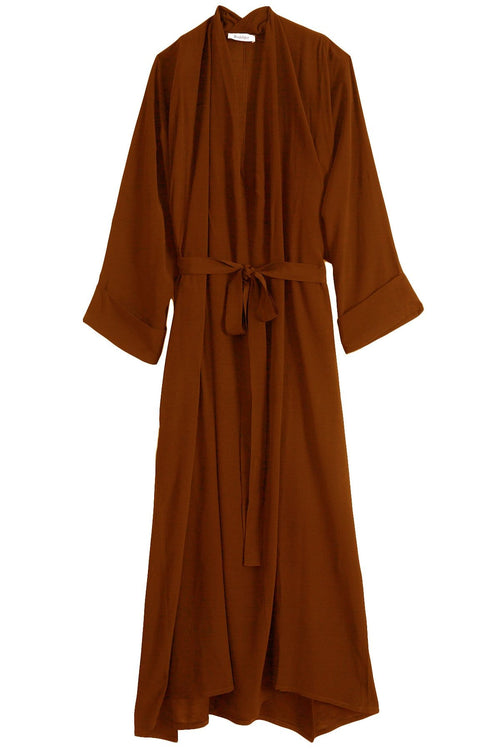 Mabelin Dress in Cinnamon