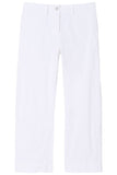 Tomboy Pant with Cuff in White