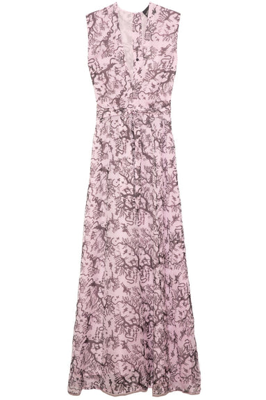 Long Ida Dress in Toc Toc Pink