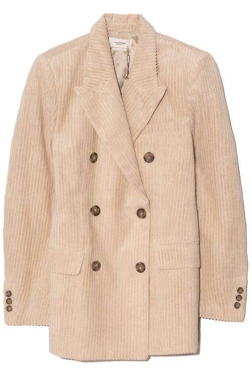 Daleyo Jacket in Beige