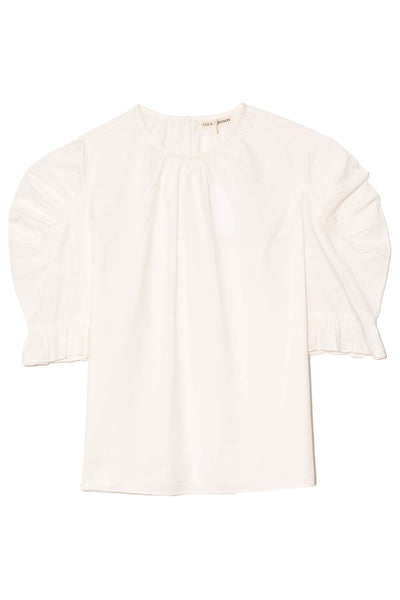 Joni Blouse in Blanc
