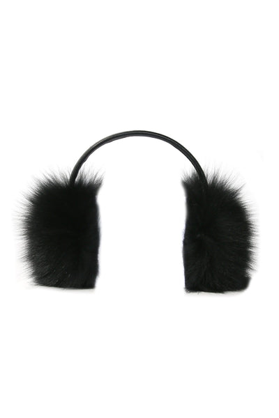 Ear Warmers in Noir
