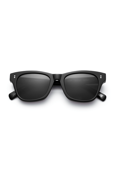 #007 Black Sunglasses in Berry