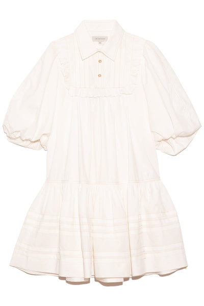 Johannes Smock Mini Dress in Natural