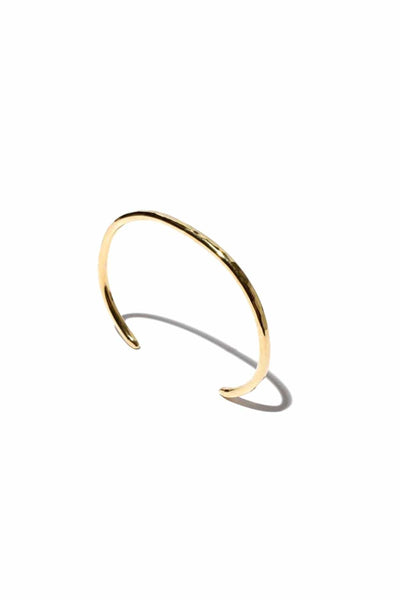 Thick Sidra Cuff in 14k Gold Vermeil