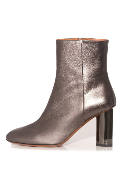 Judie Boot in Grey Metallic