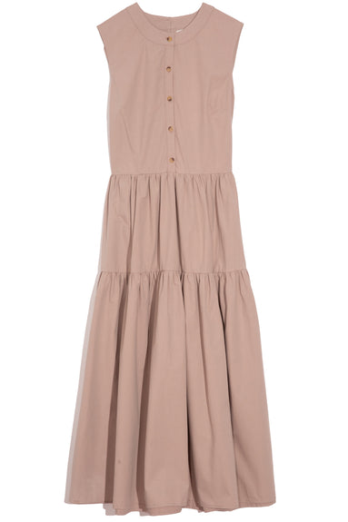 Freya Dress in Khaki