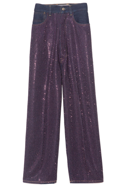 Breezy Pant in Blue/Purple
