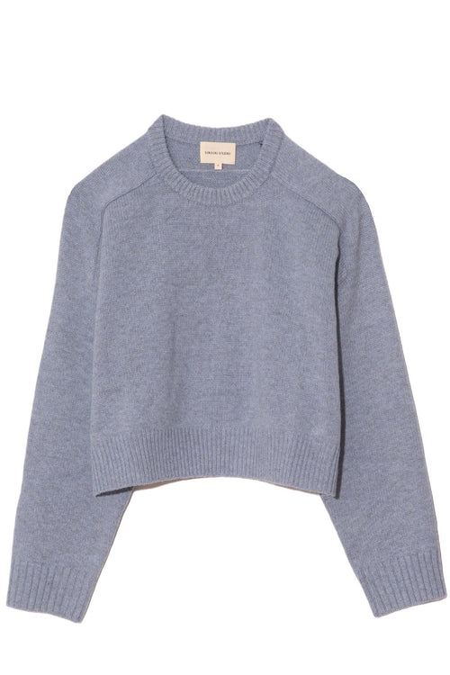 New Bruzzi Sweater in Blue Melange