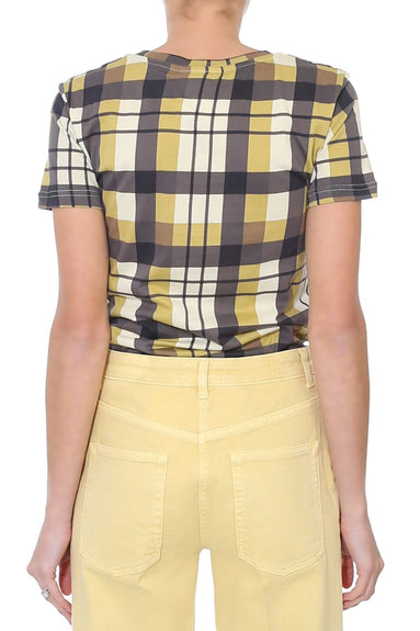 Jerry Shirt in Black/Yellow Check