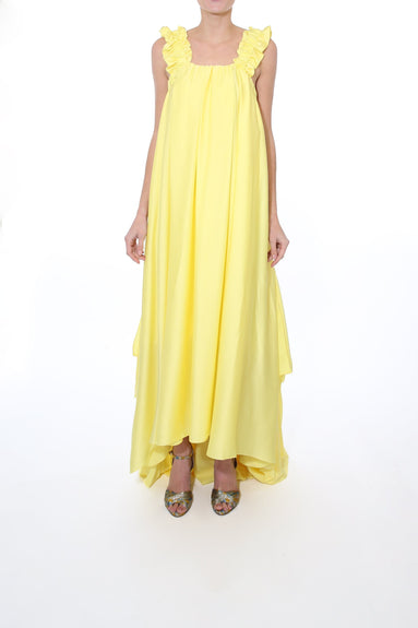 Evie Dress in Yellow