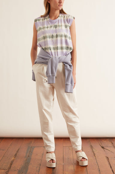 Casual Revolution Sweatpant in Camellia White TS