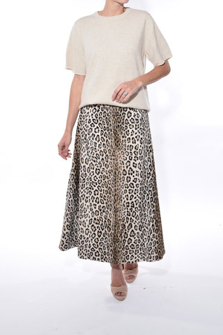 Ionie Skirt in Beige
