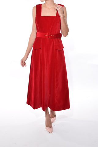 Petra Dress in Red