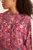 Catchell Shirt in Fuchsia