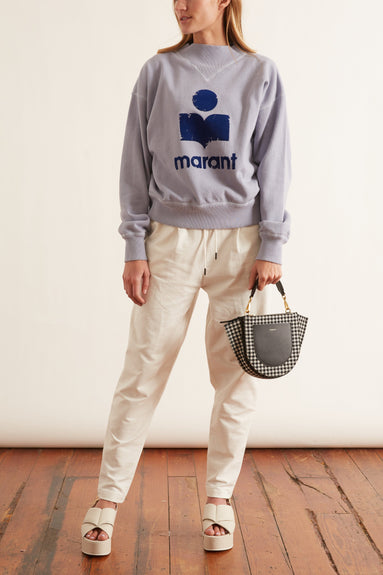 Moby Sweatshirt in Light Blue