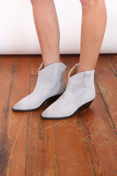 Dewina Boot in Light Grey