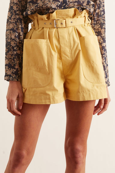 Ike Shorts in Yellow