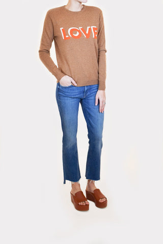 The Love Sweater in Vicuna