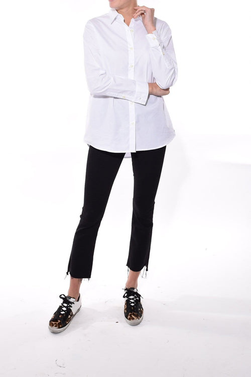 The Hutton Oversized Shirt in White