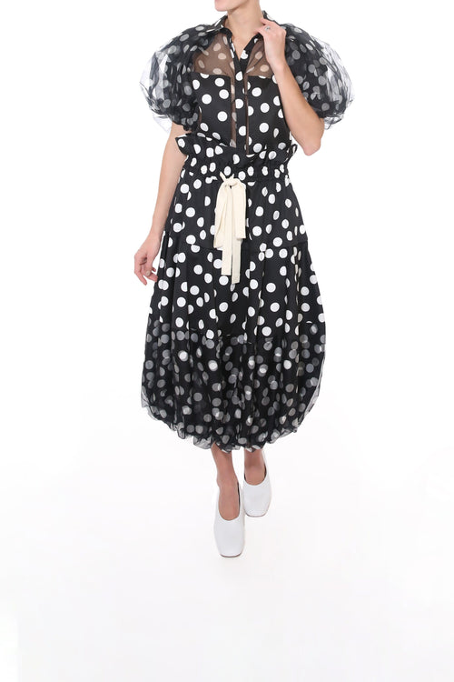Cherry Spot Balloon Skirt in Spot
