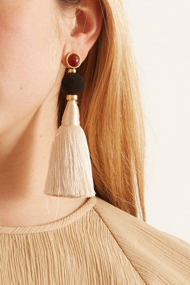 Puglia Fringe Earrings