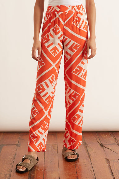 Modal Jogger Pant in Puccinelli