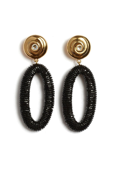 Allure Earrings in Black