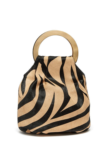 Alpine Bag in Tan Zebra